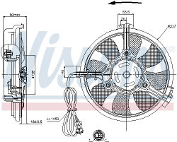 GMV VL VW-PASSAT AC-FAN 96-