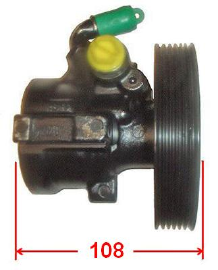 Pompe hydraulique, direction - 04070381-1 - LIZARTE